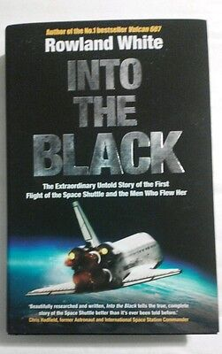 NASA astronaut new signed copy Into the Black -Richard Truly contributor