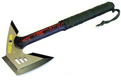 "16.5"" Hunt-Down Stainless Steel Blade Tactical Axe"