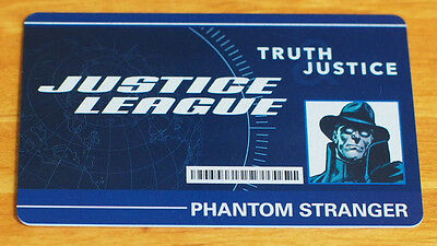 Heroclix Phantom Stranger ID Card #DCID-001 Convention Exclusive LE - Used