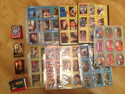 Movie Trading Cards Job Lot