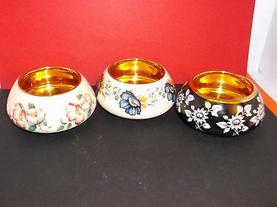 Choice of 3 Spectacular Prinknash Pottery 4 cm Sugar Bowl. Price is for EACH.