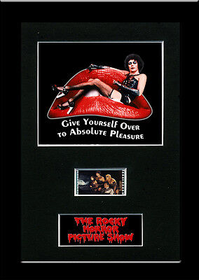The Rocky Horror Picture Show Framed 35mm Mounted Film cells - filmcell movie