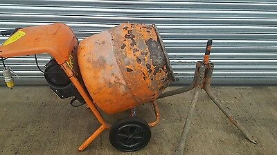 BELLE MINIMIX 150 2013 year 110 VOLT ELECTRIC WITH STAND CEMENT CONCRETE MIXER.