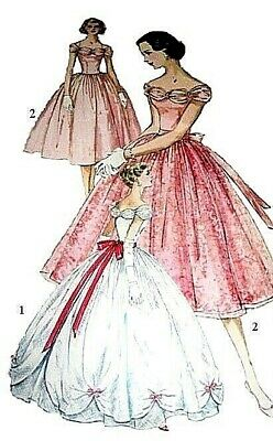 180 BALL GOWN WITH OVER SKIRT Pattern for Fashion Dolls