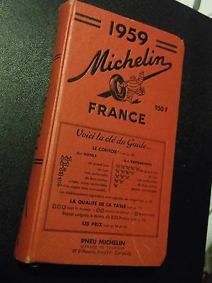 Guide Rouge Michelin 1959