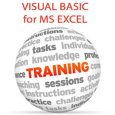 VISUAL BASIC for MS EXCEL - Video Training Tutorial DVD