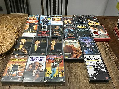 Original Rare Collectors VHS Movies Films From 80's And 90's