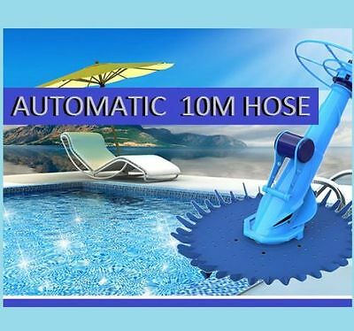 New In Ground Climbing Auto Swimming Pool Cleaner 10m hose with Diaphragm Design