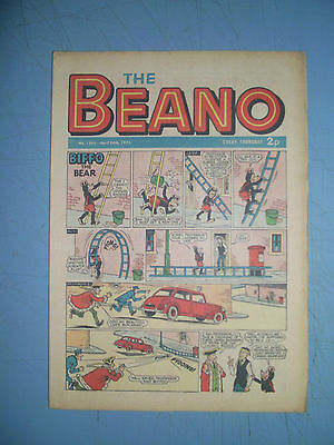 Beano issue 1501 dated April 24 1971
