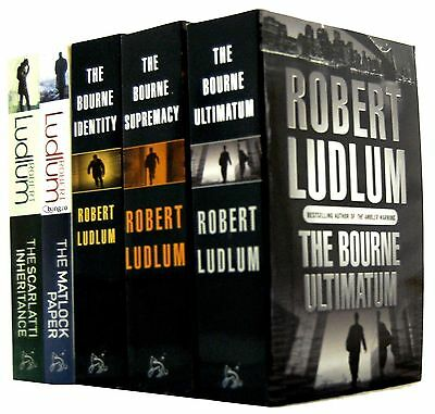 9 Audiobooks - The Jason Bourne Complete Series by Robert Ludlum Mp3 Unabridged