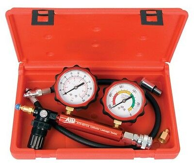 Advanced Tool Design ATD Tools 5573A 2-Gauge Cylinder Leakage Tester