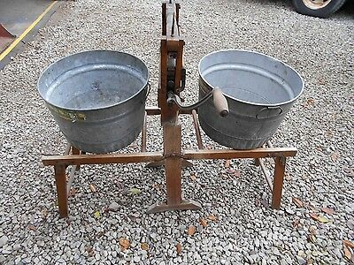 Antique cloths washer and wringer 1800's