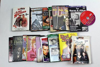 Lot of DVD Movies Documentaries, Westerns, Classic TV, Comedy Movies - Great Mix