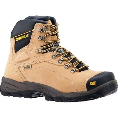 CAT Diagnostic Work / Safety Boot - Honey/Mens, 13