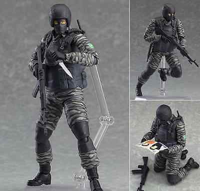 Metal Gear Solid 2 Sons of Liberty Gurlukovich Action Figure Toy Collectable New