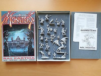 Ral Partha 10-512 Dungeons & Dragons Monsters - Dungeons & Dragons TSR