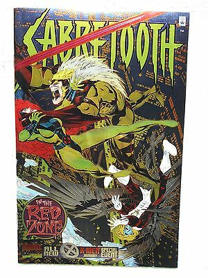 Sabretooth In the Red Zone Chromium NM 9.4