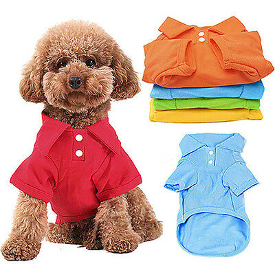 Pet Puppy Summer Shirt Small Dog Cat Clothes Costume Apparel T-Shirt Precious