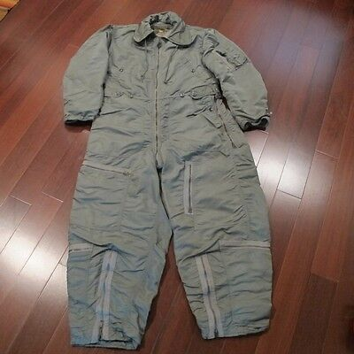 VINTAGE ORIGINAL USAF US AIR FORCE  CWU-I/P FLYING COVERALL ALBERT TURNER 60s