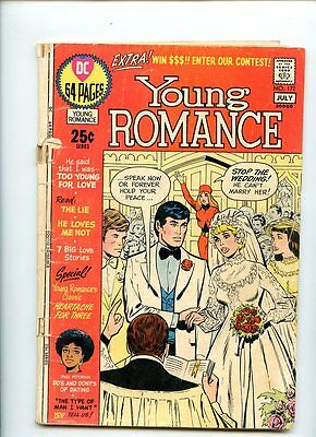 Young Romance # 172 (1971) GD