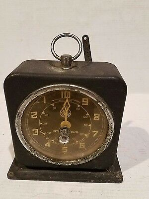 Vintage GE General Electric Interval Timer - Good Working Condition