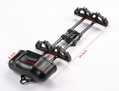 NEW 1X Archery Octane 5 Arrow Quiver Black for Compound Bow Hunting Shooting