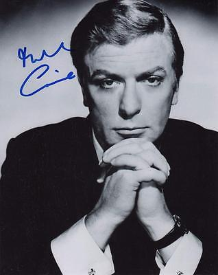 100% Quality Michael Caine Autograph -signed Photo- The Dark Knight Coa Vf Inception