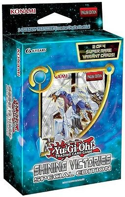 Yu-Gi-Oh TCG Shining Victories Special Edition Display