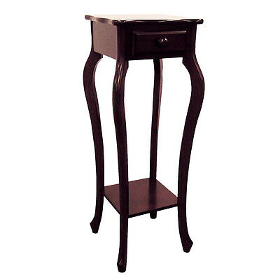 """ORE Furniture CHERRY Plant Stand- H-39 - 11.5"""" x 11.5"""" x 32.5"""" NEW"""