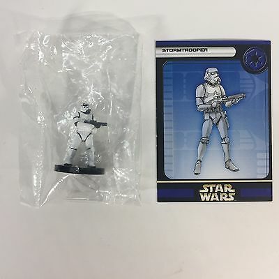 Star Wars Miniatures Figure Rebel Storm Stormtrooper #36 New With Card