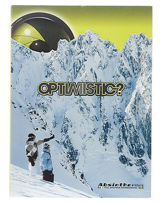 Optimistic And Flipside - Double Dvd Pack - By Absinthe Films - Snowboard Dvd