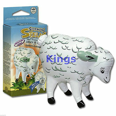 Storming Stella INFLATABLE SHEEP Blow Up Rude Party Gift Adult Stag Night Hen
