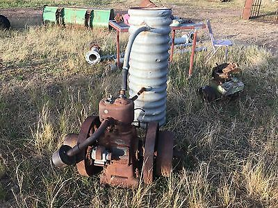 Lister  Stationary Engine  and Cooling Tank