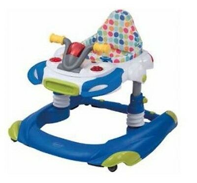 NEW Steelcraft Baby Walker Activity Centre Roadster 2 in 1 Circles #`30129