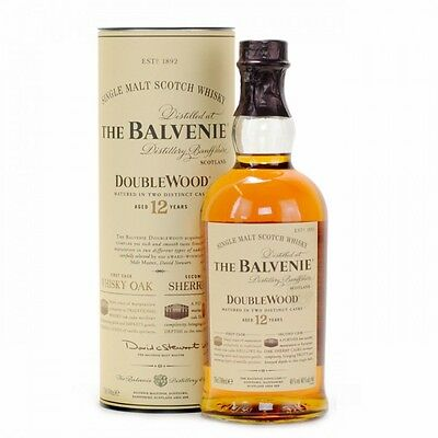 The Balvenie 12 Yo Double Wood Single Malt Scotch Whisky 700 Ml