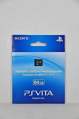 NEW SONY GENUINE OFFICIAL 64GB 64 GB Memory Save Card for PS Vita PSV Console