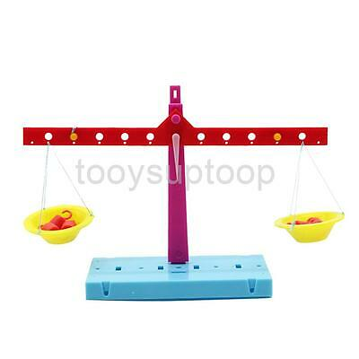 DIY Experiment Toys Learning Scale Weight Kids Birthday Gift Scale Balance