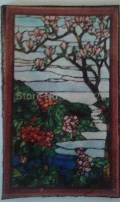 Dolls House   (Stain glass look) Window Panel