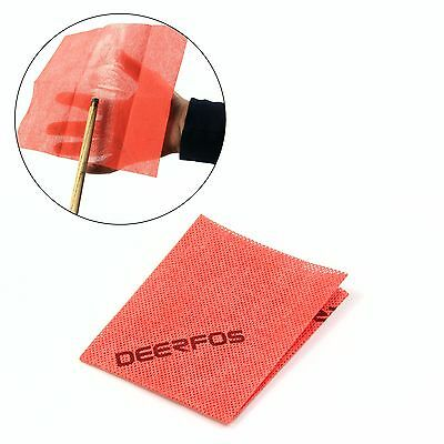 Cue & Case PRO RED Magic Cue Cleaning Cloth - Professional Cue Cleaning