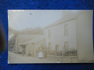 Workington Area: Unidentified House - Scarce Henderson Real Photo Postcard!