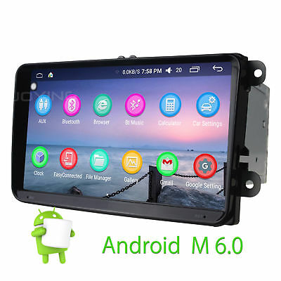 "9""  2GB HD Android 5.1 Double 2din GPS Navi mirror link 4G DAB+ for VW EOS GOLF"
