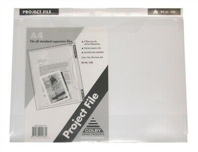 Colby A4 Project Presentation File Durable 152A 10 Pack - Clear