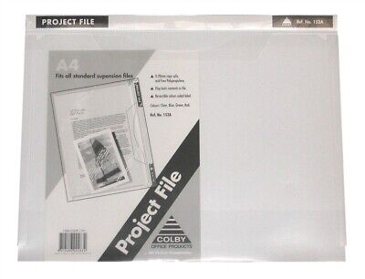 "Colby Project Presentation File A4 Durable Clear ""10 Pack"" 152A - Clear"