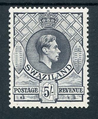 Swaziland 1938-54 5s grey perf 13½ x 13 SG37 MLH