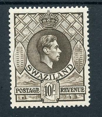 Swaziland 1938-54 10s sepia  perf 13½ x 13 SG38 MLH