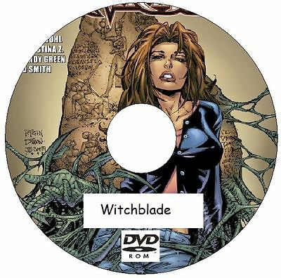 Witchblade Comic Collection 185 Issues Plus 2 Annuals on 2 DVDs