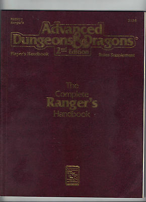 AD&D 2e The Complete RANGERS Handbook PHBR11 Price Includes delivery in the UK