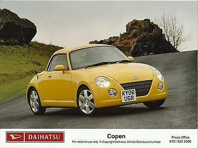 DAIHATSU COPEN 660cc Press / Publicity Photo 2006 UK market