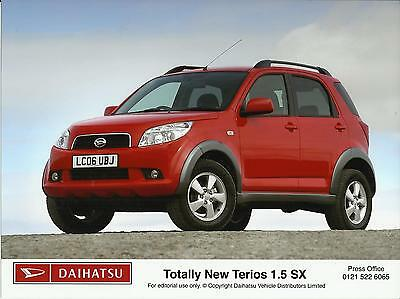 DAIHATSU TERIOS 1.5 SX Press / Publicity Photo 2006 UK market