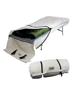 Outfitters Supply Bedroll Sleeping Bag Cover Canvas Natural WCA205